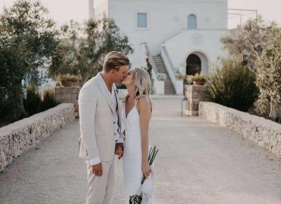 Jessica + Ben from Australia in Masseria Fulcignano