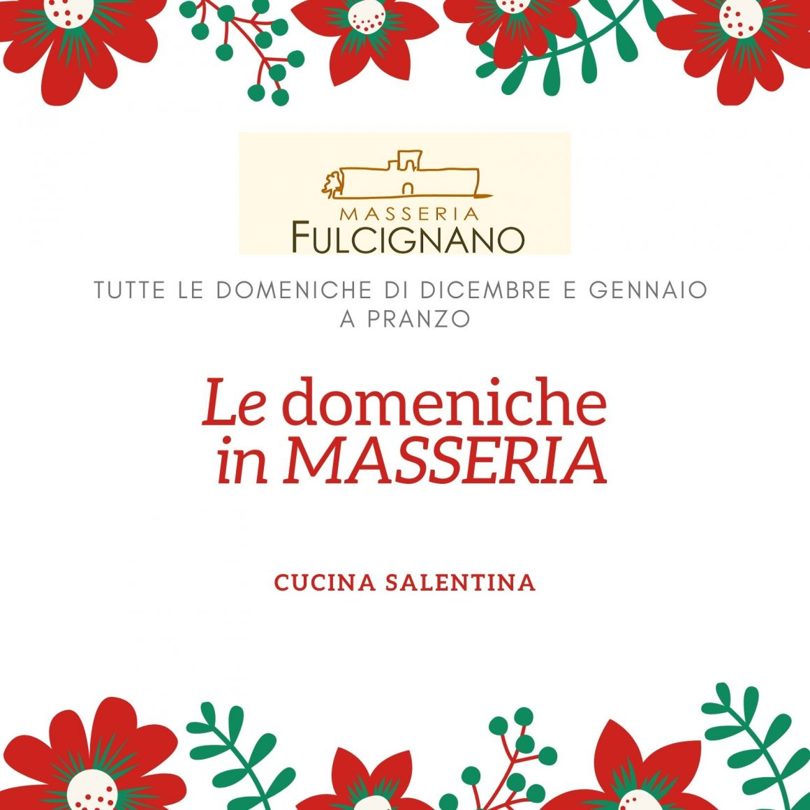 Le domeniche in Masseria